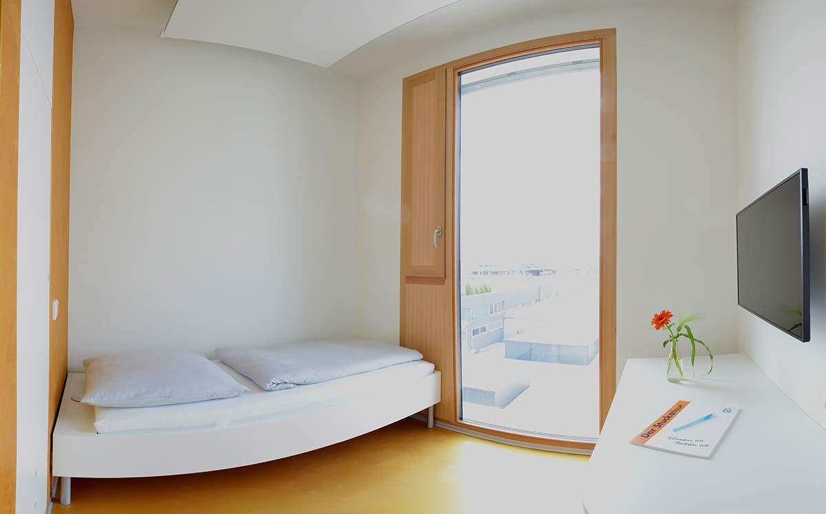 Hotelzimmer mit Übernachtung