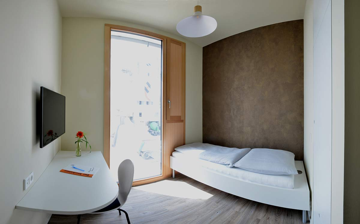 Zimmer für Übernachtung