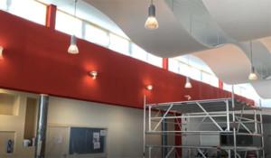 Umbau Praxis- und Technikgebäude im Branchenzentrum Rutesheim